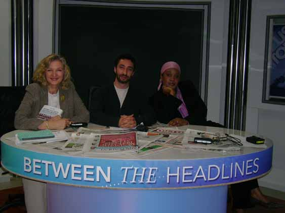 Lady Michele Renouf on Press TV's Between the Headlines