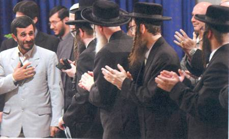 Ahmadinejad and the rabbis